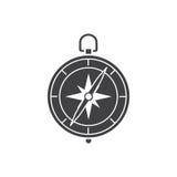 metall för symbol för green för huvuddelmittkompass Royaltyfria Foton