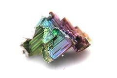 Metall för vismut (bismuthium) arkivbild