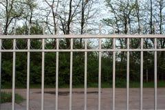 Metall fence3 royaltyfri bild