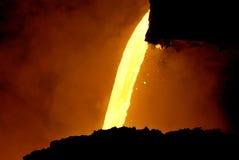 Metall-fließen Sie stockfotografie