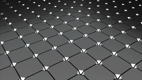 Metall floor with tiling, abstract 3d rendering, computer generating background. Metall floor with tiling, abstract 3d rendering backdrop, computer generating stock illustration