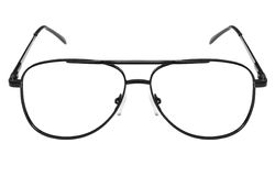 Metall frame for glasses Royalty Free Stock Photos