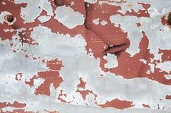Metall gå i flisor målarfärgtextur Arkivbild