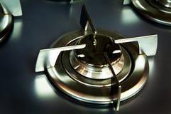Metall-Gaskocher stockbilder