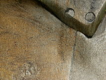 Metall geöltes Teil des Pflugs Lizenzfreie Stockbilder