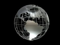 Metall globe Stock Photos