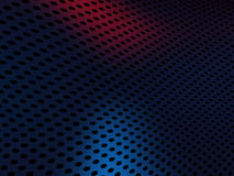 Metall grid texture background. 3d render Royalty Free Stock Photography