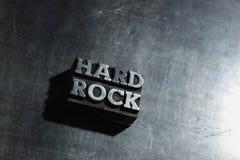 Metall-HARDROCK-Hintergrund Stockbild