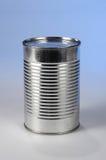 Metall kann ohne Kennsatz stockbild