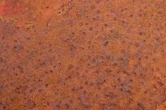Metall korroderad textur Arkivbild