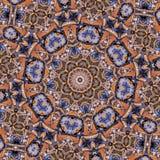 Metall leitet Kaleidoskop   stock abbildung