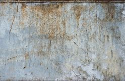 Metall med rosttextur Arkivbilder