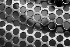 Metall Mesh Texture Arkivfoto