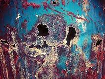 Metall och målarfärg Arkivfoton