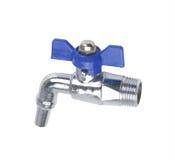 Metall- oder PVCplastikwasserleitungspipe-verbindung Ventil, plombierend stockbild