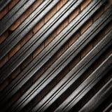Metall på väggen arkivfoton