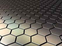 Metall pattern Stock Images