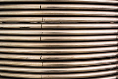 Metall pipes bakgrund arkivfoto