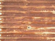 metall pläterad rostig yttersida Royaltyfri Bild