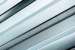 Metall profilerat pryda för ark Arkivfoto