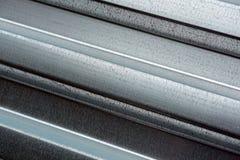 Metall profilierte Blatt Decking Stockfoto