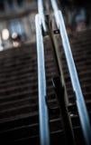 Metall-raillings Stockbild
