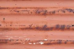 Metall rojo Imagenes de archivo