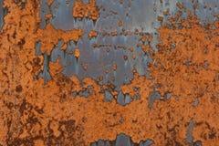 metall rostade Arkivfoto