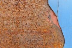 metall rostade Royaltyfri Bild