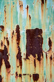 metall rostade textur Arkivbilder