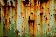 metall rostade textur Royaltyfri Fotografi