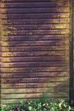 metall rostade väggen Royaltyfri Fotografi