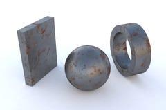 Metall Rusty Steel Stockfotos