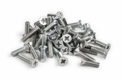 Metall screw Royalty Free Stock Photo