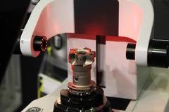 Metall som bearbetar teknologi Arkivfoto