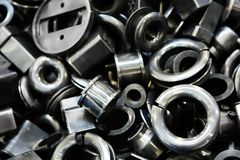 Metall Spare Parts Stock Photo