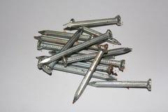 Metall spikar Royaltyfri Foto
