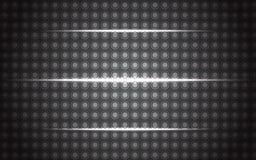 Metall tło z jarzyć się linie Zdjęcia Stock