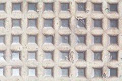 Metall textue της κάλυψης τρυπών ατόμων Στοκ εικόνα με δικαίωμα ελεύθερης χρήσης