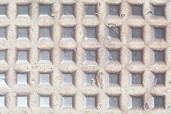 Metall-textue der Mannlochabdeckung Lizenzfreies Stockbild