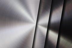 Metall texturerad teknologibakgrund Arkivfoto