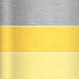 Metall texturerar bakgrund arkivfoton