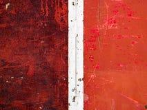 Metall- und Holzbeschaffenheitshintergrund mit Kratzern und Schalenfarbe lizenzfreie stockfotos
