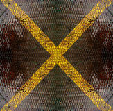 Metall X Stockbild