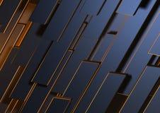 Metallabstrakte Formulare Lizenzfreie Stockfotografie