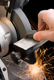 Metallarbeits lizenzfreie stockfotos