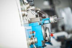 Metallarbeitsdrehbankmaschine Stockfoto