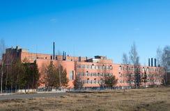 Metallarbeitsgebäude stockbild