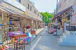 Metallarbetemarknaden i Antalya Arkivfoto