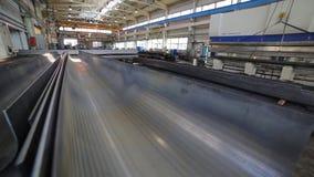 Metallark efter pressen lager videofilmer